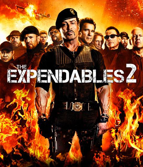 The Expendables 2 (SD) Vudu Redeem
