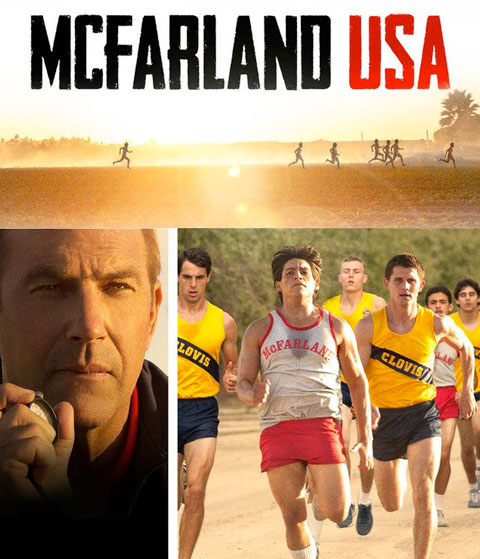 McFarland, USA (HD) Google Play Redeem (Ports To MA)