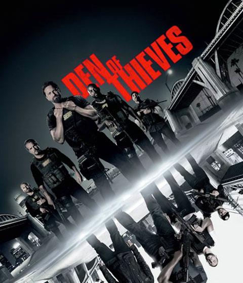 Den Of Thieves (HD) ITunes Redeem