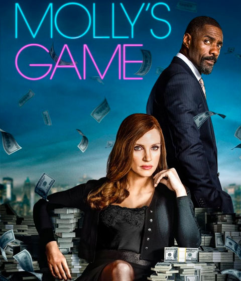 Molly's Game (HD) ITunes Redeem