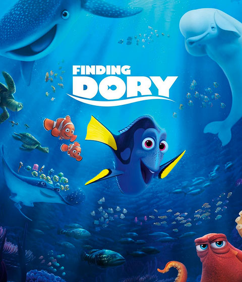 Finding Dory (HD) Google Play Redeem (Ports To MA)