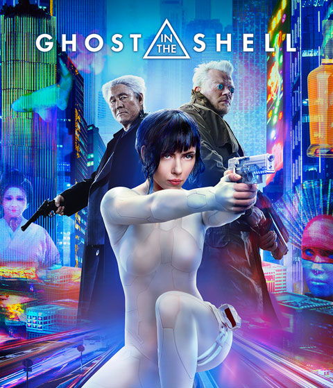 Ghost In The Shell (HDX) Vudu Redeem