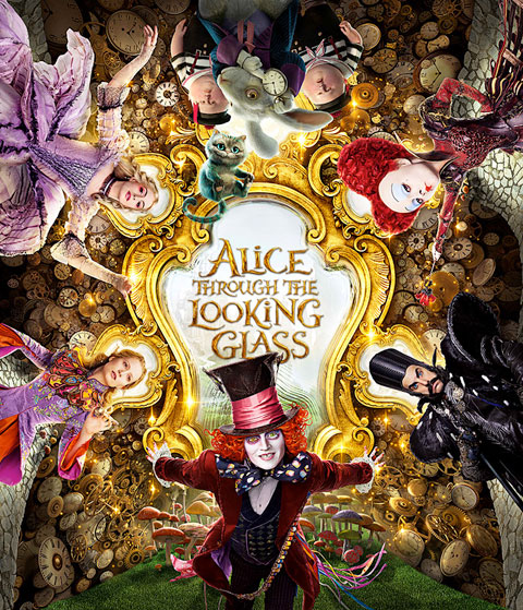 Alice Through The Looking Glass (HD) ITunes Redeem (Ports To MA)