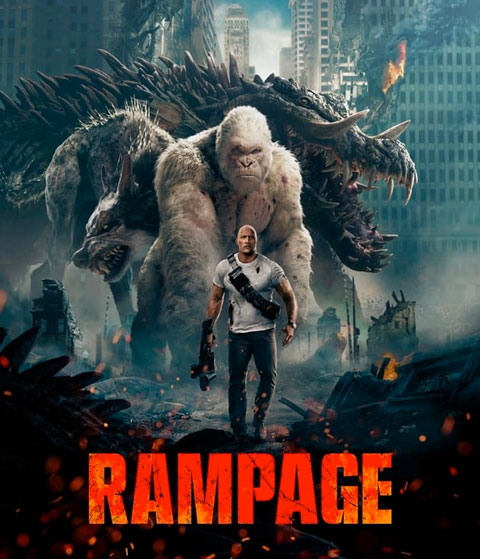 Rampage (HD) Vudu / Movies Anywhere Redeem
