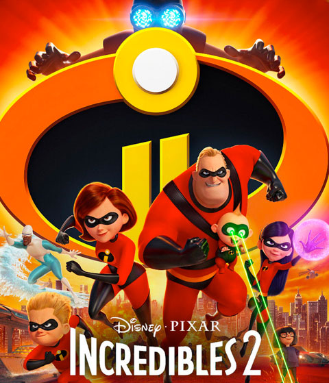 Incredibles 2 (HD) Google Play Redeem (Ports To MA)