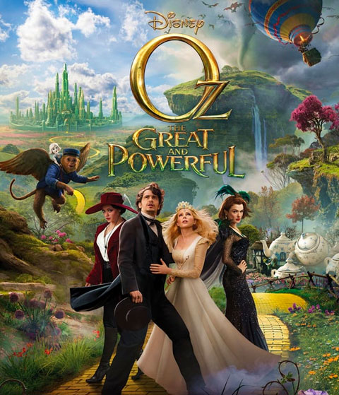 Oz The Great And Powerful (HD) Google Play Redeem (Ports To MA)