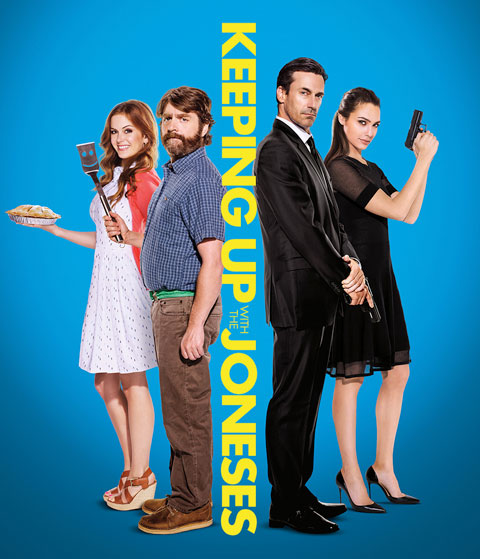 Keeping Up With The Joneses (4K) ITunes Redeem (Ports To MA)