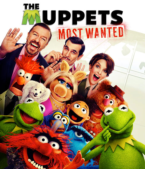 Muppets Most Wanted (HD) Google Play Redeem (Ports To MA)