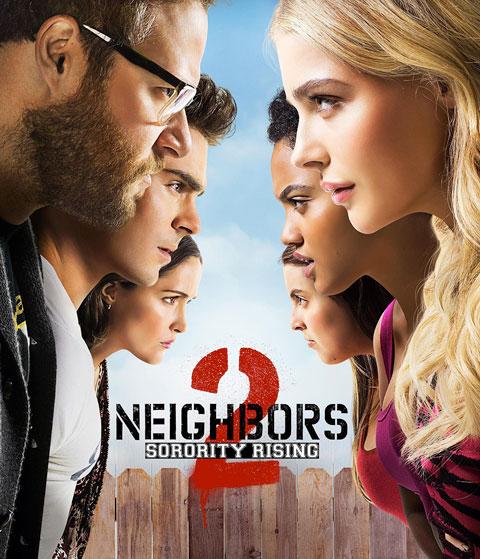 Neighbors 2: Sorority Rising (HD) ITunes Redeem (Ports To MA)