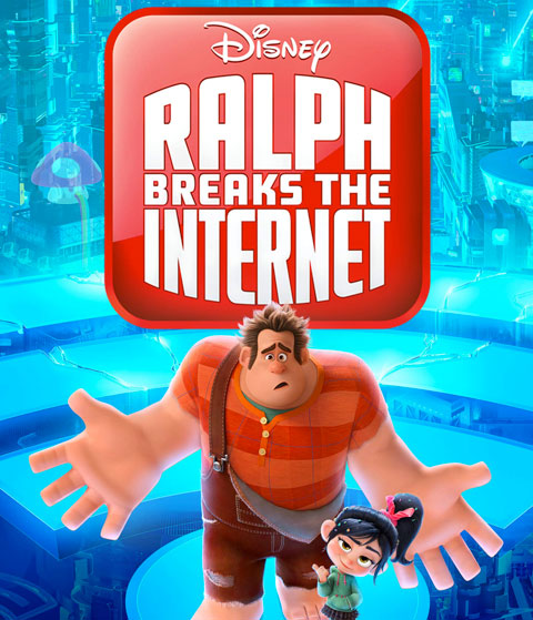 Ralph Breaks The Internet (HD) Google Play Redeem (Ports To MA)