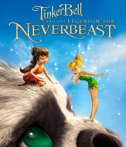 Tinker Bell And The Legend Of The NeverBeast (HD) Google Play Redeem (Ports To MA)