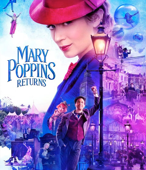 Mary Poppins Returns (HD) ITunes Redeem (Ports To MA)