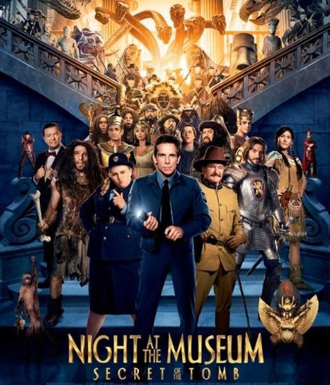 Night At The Museum: Secret Of The Tomb (4K) ITunes Redeem (Ports To MA)