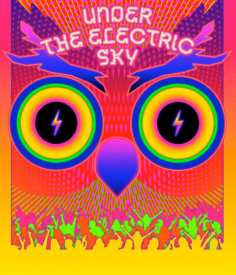 Under The Electric Sky (HD) ITunes Redeem (Ports To MA)