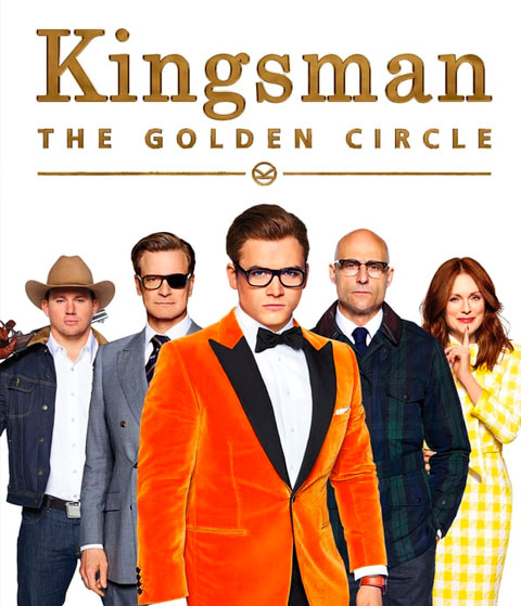 Kingsman: The Golden Circle (4K) ITunes Redeem (Ports To MA)
