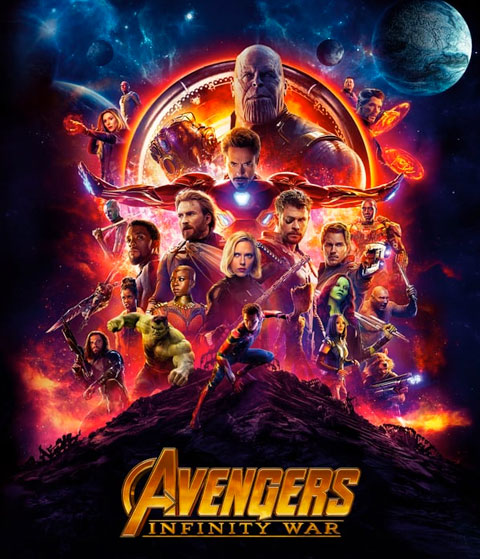 Avengers: Infinity War (HD) ITunes Redeem (Ports To MA)