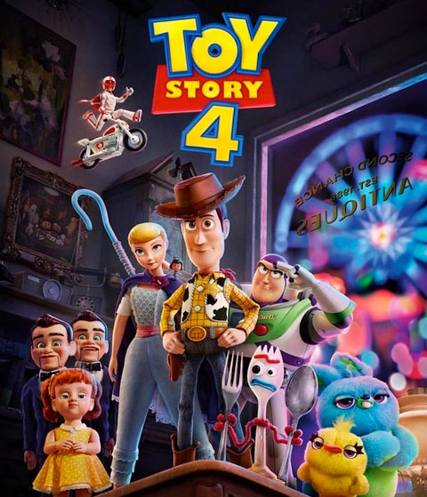 Toy Story 4 (HD) ITunes Redeem (Ports To MA)