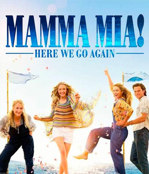 Mamma Mia! Here We Go Again (HD) Vudu / Movies Anywhere Redeem